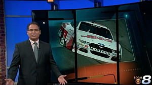 Cole Custer - 2017 Bristol - Interview with WVLT (CBS) Knoxville, TN