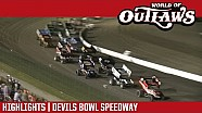 World of Outlaws Craftsman sprint cars Devils Bowl speedway April 15, 2017 | Highlights