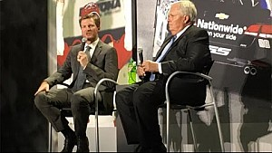 Junior: Hardest part was telling Rick Hendrick