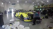 Wrapping Bubba Wallace's Mello Yello Ford