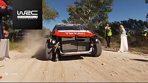 حادث كريس ميك في المرحلة الخاصّة الرابعة من رالي الأرجنتين 2017