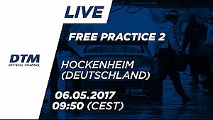 2. Antrenman - DTM Hockenheim 2017 [Almanca]