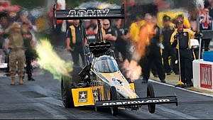 The No. 1 qualifying position belongs to Tony Schumacher at the Southern Nationals