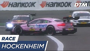 Brilliant Avoidance by Wittmann & Di Resta - DTM Hockenheim 2017
