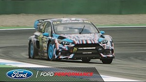 Ford Focus RS RX and Hoonigan racing: Hockenheim action | FIA World Rallycross | Ford Performance
