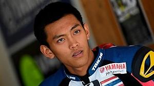 3rd Yamaha VR46 Master Camp rider: Peerapong Boonlert