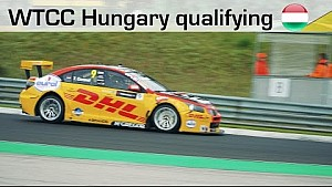 Tom says grmpfff. Qualifying WTCC Hungary 2017 highlights Coronel