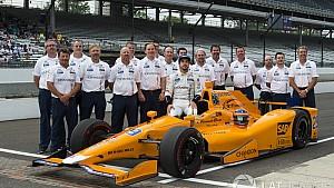 Fernando Alonso clasificación del sábado en Indy 500