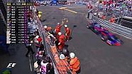 2017 Monaco GP Sıralama -Vandoorne Kaza Yaptı