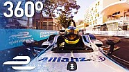 360 Video: Monaco Tour & Onboard hot lap with Bruno Senna - Formula E