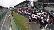 Detrás de la foto de grupo de las 24h de Le Mans 2017