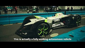 Roborace Highlights | History made on the streets of Paris