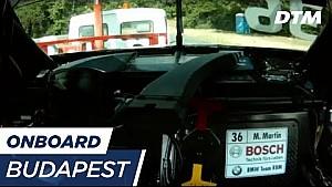 DTM Budapest 2017 - Maxime Martin (BMW M4 DTM) - Re-Live onboard (Race 1)