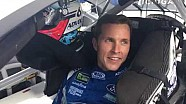 Trevor Bayne getting ready to roll at Michigan