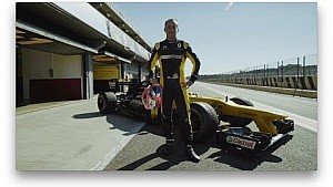 Renault Sport Formula One Team: il test di Robert Kubica a Valencia