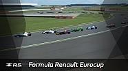 Formula Renault Eurocup : Silverstone 2. yarış özet