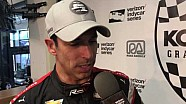 Helio Castroneves discusses winning his 50th Indy Car Pole