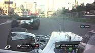 GP d'Azerbaïdjan - Bottas dépasse Stroll sur la ligne!