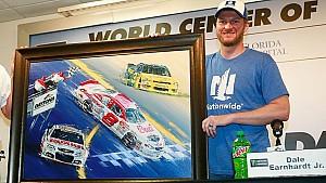 Dale Jr. talks about his impressive cars at Daytona