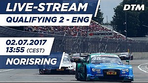 Live: Qualifying (Race 2) - DTM Norisring 2017