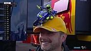 Topi unik pendukung Rossi di Sachsenring