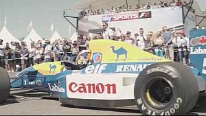 Williams amène le passé et le présent de la F1 à Goodwood