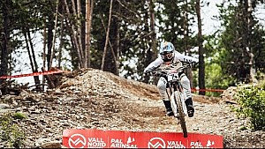 Troy Brosnan's blazing 1st place MTB run: Vallnord | UCI Mountain Bike World Cup 2017