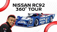 360° Nissan RC92 tour with Jann Mardenborough