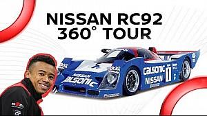 360° Nissan RC92 tour with Jann Mardenborough