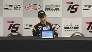 Iowa corn 300 news conference: Helio Castroneves