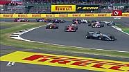 2017 Britanya GP - Start, İlk Tur ve Tekrarı