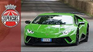 Lamborghini Huracan performante and Aventador S conquer FOS