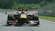 WRC Champ Sébastien Ogier driving a Formula 1 car!