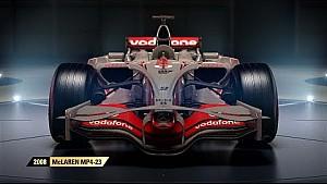 F1 2017 Coches clásicos  - McLaren