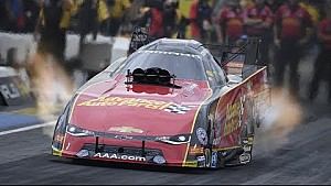 Courtney Force resets both ends of the track record in Denver