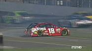 Indianapolis: Crash, Kyle Busch vs. Martin Truex Jr.