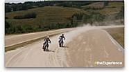 Четвертий Yamaha Master Camp - відео з дрона, тренування на флет-треці VR46 Motor Ranch