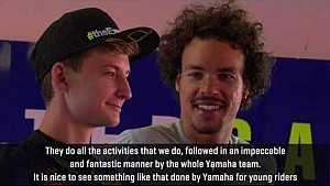 4th Yamaha VR46 Master Camp - Interview with Andrea Migno, Franco Morbidelli and Francesco Bagnaia