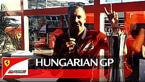 Гран Прі Угорщини - слова Себа після перемоги