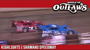 World of Outlaws Craftsman late models Shawano speedway August 2, 2017 | Highlights