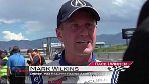 HPD Trackside -- Acura NSX GT3 Pirelli World Challenge Utah race 1