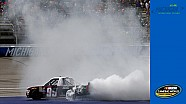 Wallace Jr. caps off big win with a big burnout