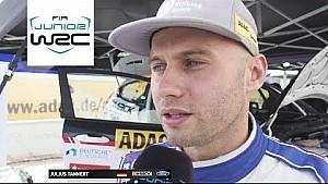 Los mejores momentos del sábado del Junior WRC en el Rally de Alemania 2017