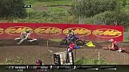 Choque de Romain Febvre MXGP de Suecia 2017