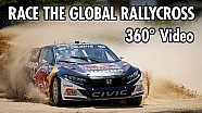 Ride the Red Bull Global rallycross in 360° - 4K