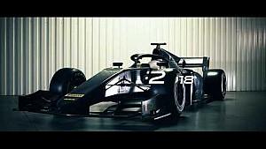 El nuevo coche de la F2 2018