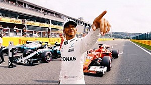 Lewis Hamilton's Moment in Time