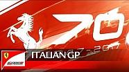 Italian Grand Prix - Scuderia Ferrari tribute to Ferrari 70 anniversary