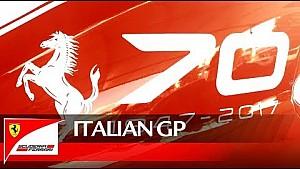 Ferrari blaast 70 kaarsjes uit op Monza