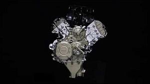 Desmosedici Stradale - Panoramica sul motore V4